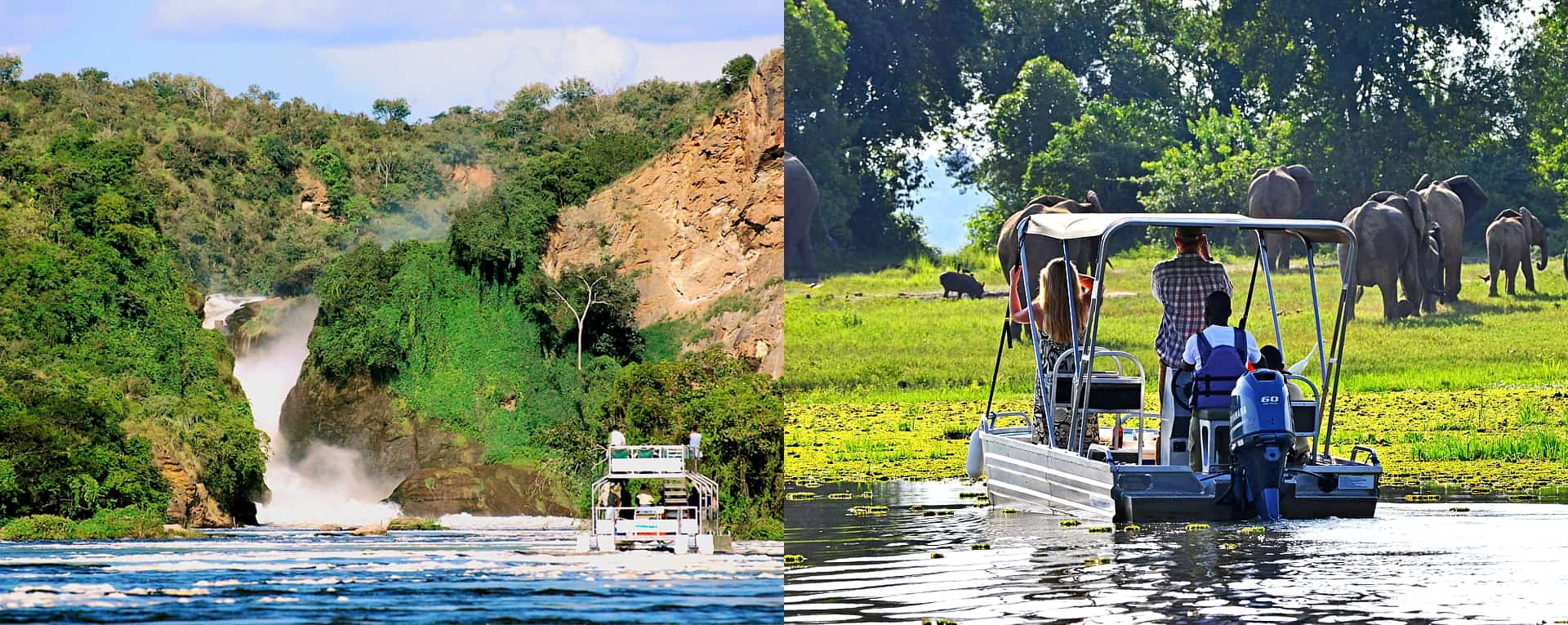 Lavish Top Views Of The Iconic Nile At Murchison Falls