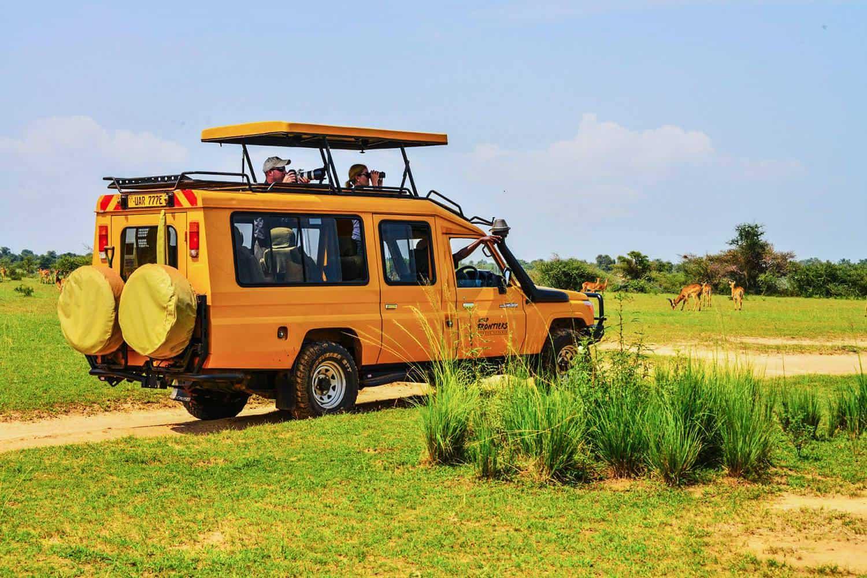 Safari Game Drives Along The Buligi Game Tracks