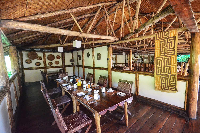 Buhoma Lodge Meals Bwindi Dining