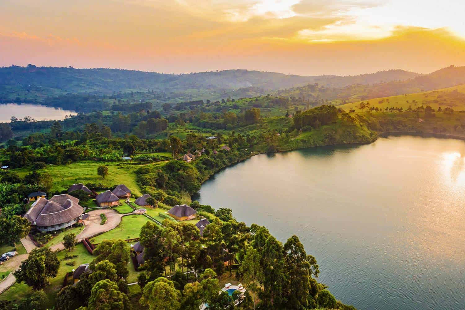 Exploring Spectacular Crater Lakes Of Kibale & Top Of The World
