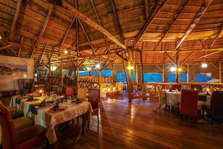 Crater Safari Lodge Meals Kibale Dining