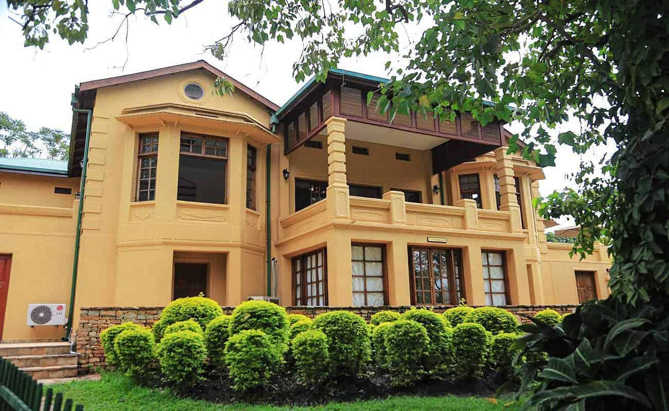 Emin Pasha Hotel Kampala View