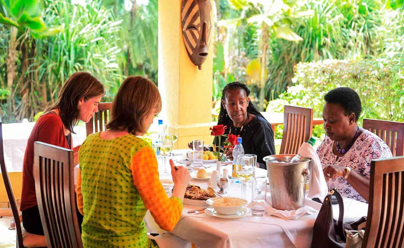Emin Pasha Hotel Meals Kampala Dining