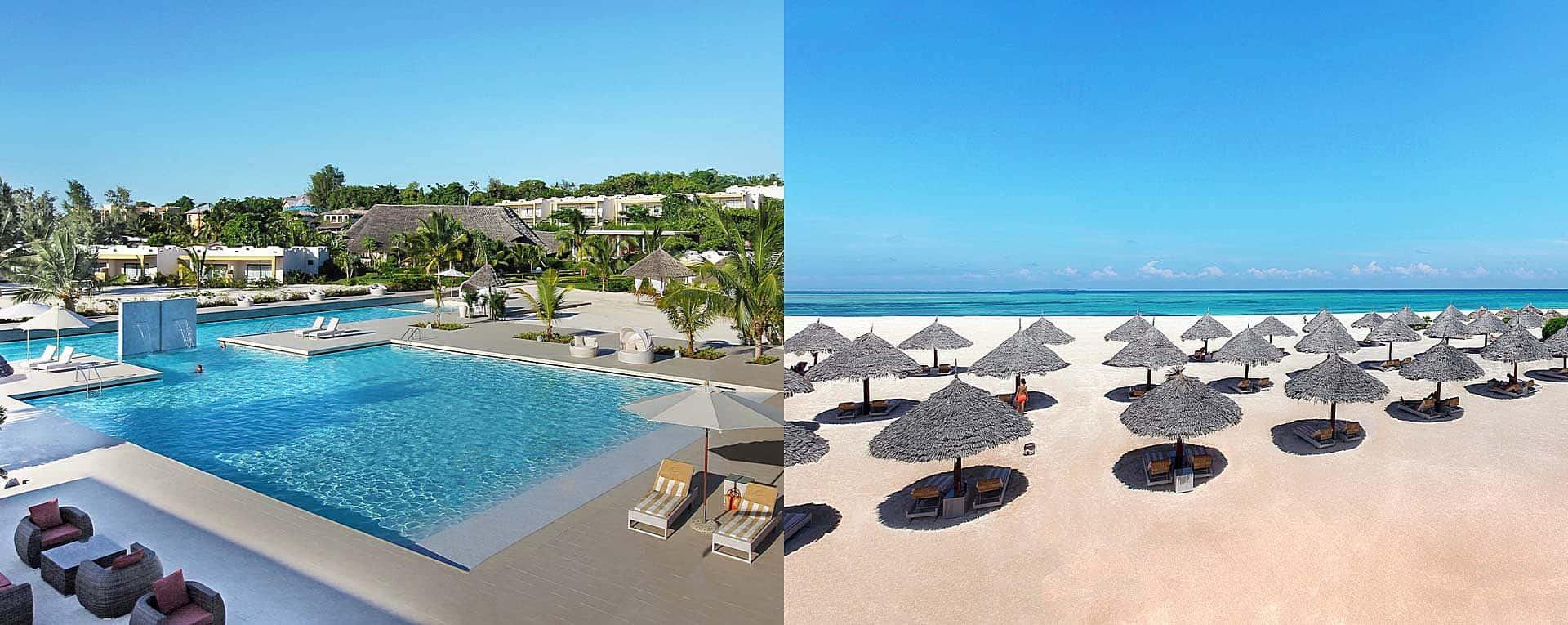 Gold Zanzibar Beach House Amp Spa Beach Accommodation In