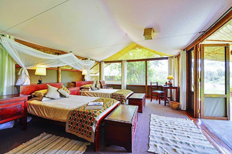 Ishasha Wilderness Camp Accommodation Queen Elizabeth