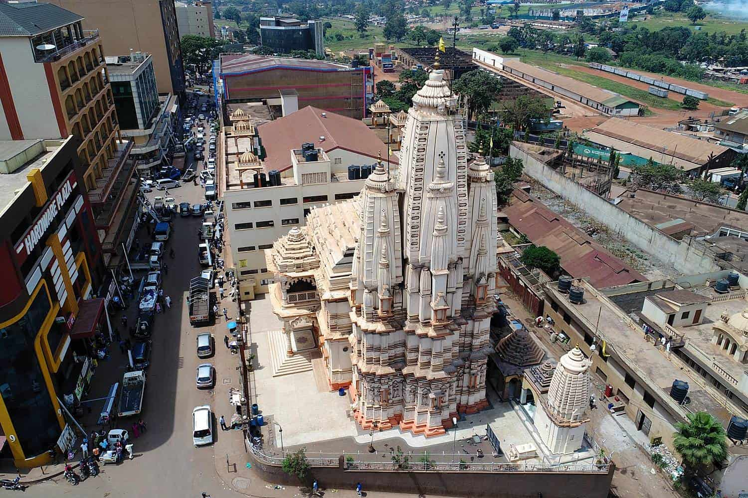 Tour Of The Hindu Temples In Kampala