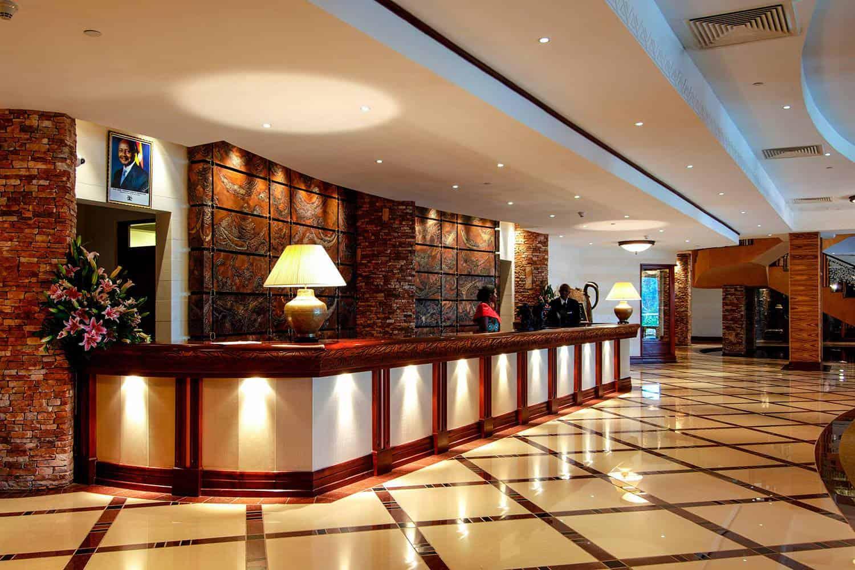 Kampala Serena Hotel Kampala View