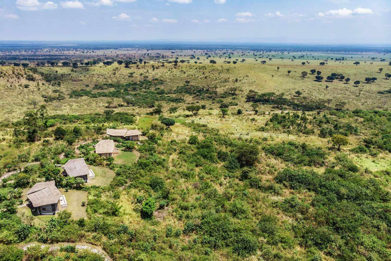Kyambura Gorge Lodge Queen Elizabeth Park View