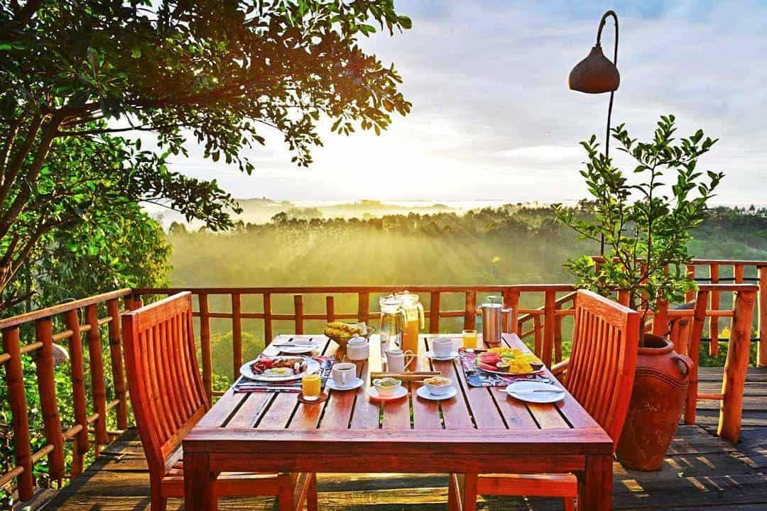 Kyaninga Lodge Meals Kibale Dining