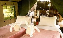 PLACES TO STAY IN NYERERE (SELOUS)