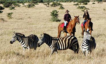 HORSEBACK SAFARIS IN KENYA