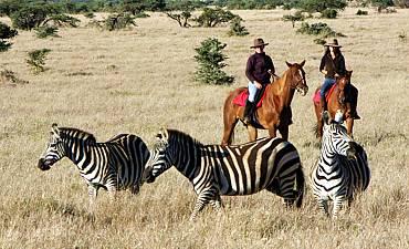 HORSEBACK SAFARIS IN KENYA