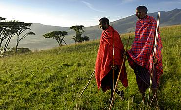 MAASAI TRIBE OF NGORONGORO