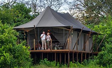 magashi camp tent exterior