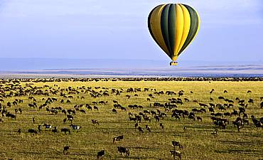 BALLOON SAFARI IN KENYA