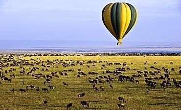 BALLOON SAFARI IN KENYA