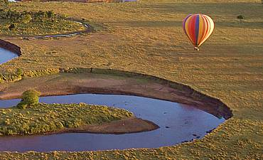 BALLOON SAFARI IN AFRICA