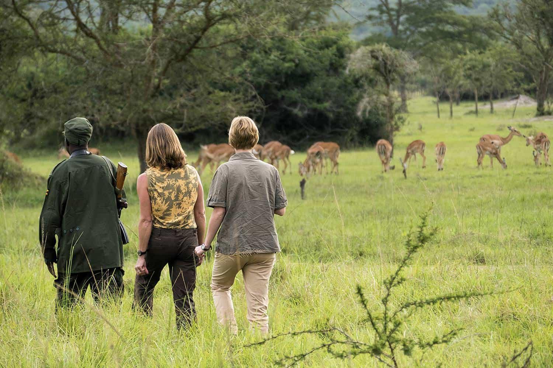 Walking Safaris In Lake Mburo Park