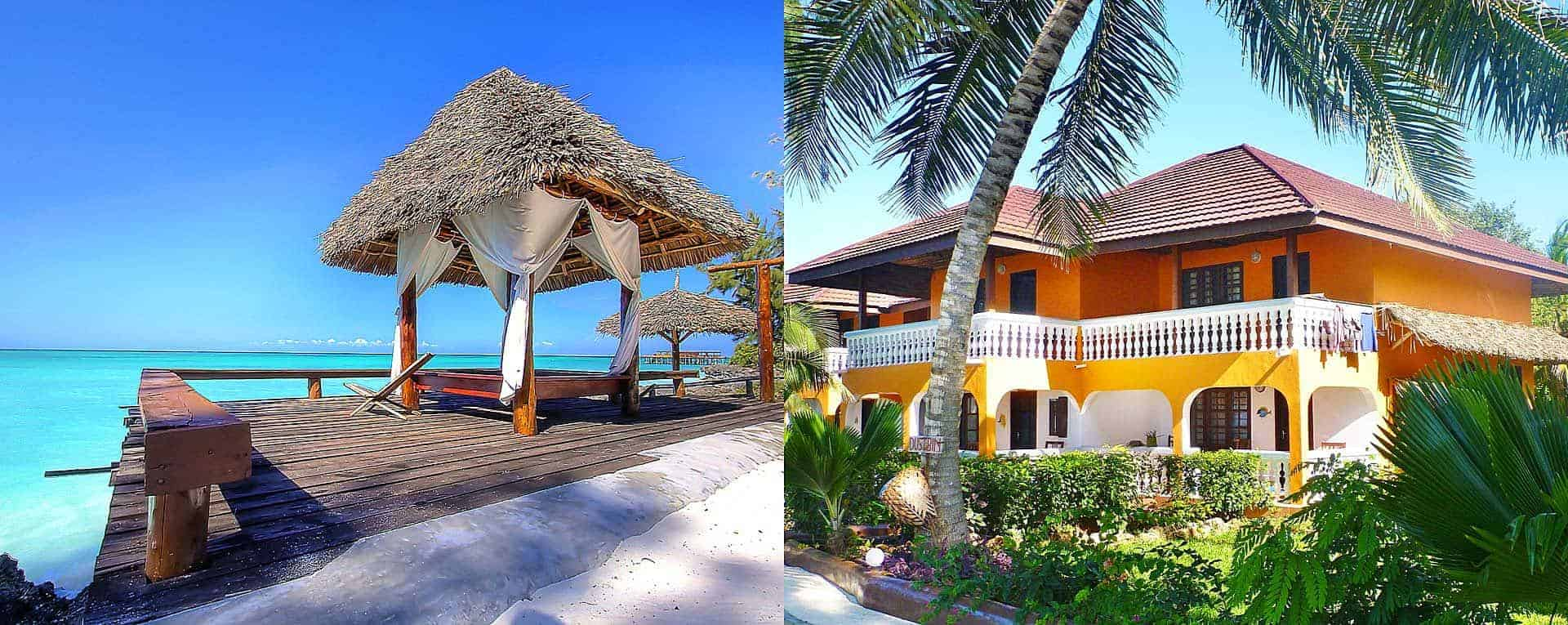 Stupendous Mnarani Beach Cottages Zanzibar Beach Accommodation In Download Free Architecture Designs Rallybritishbridgeorg