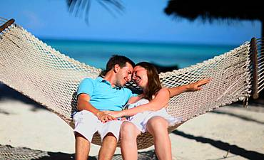 BEACH HONEYMOON IN AFRICA