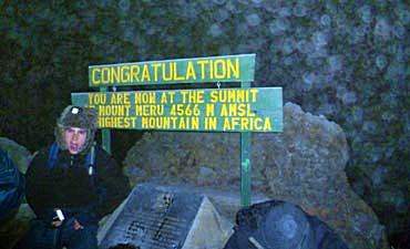MOUNT MERU TREK ITINERARY & PRICE