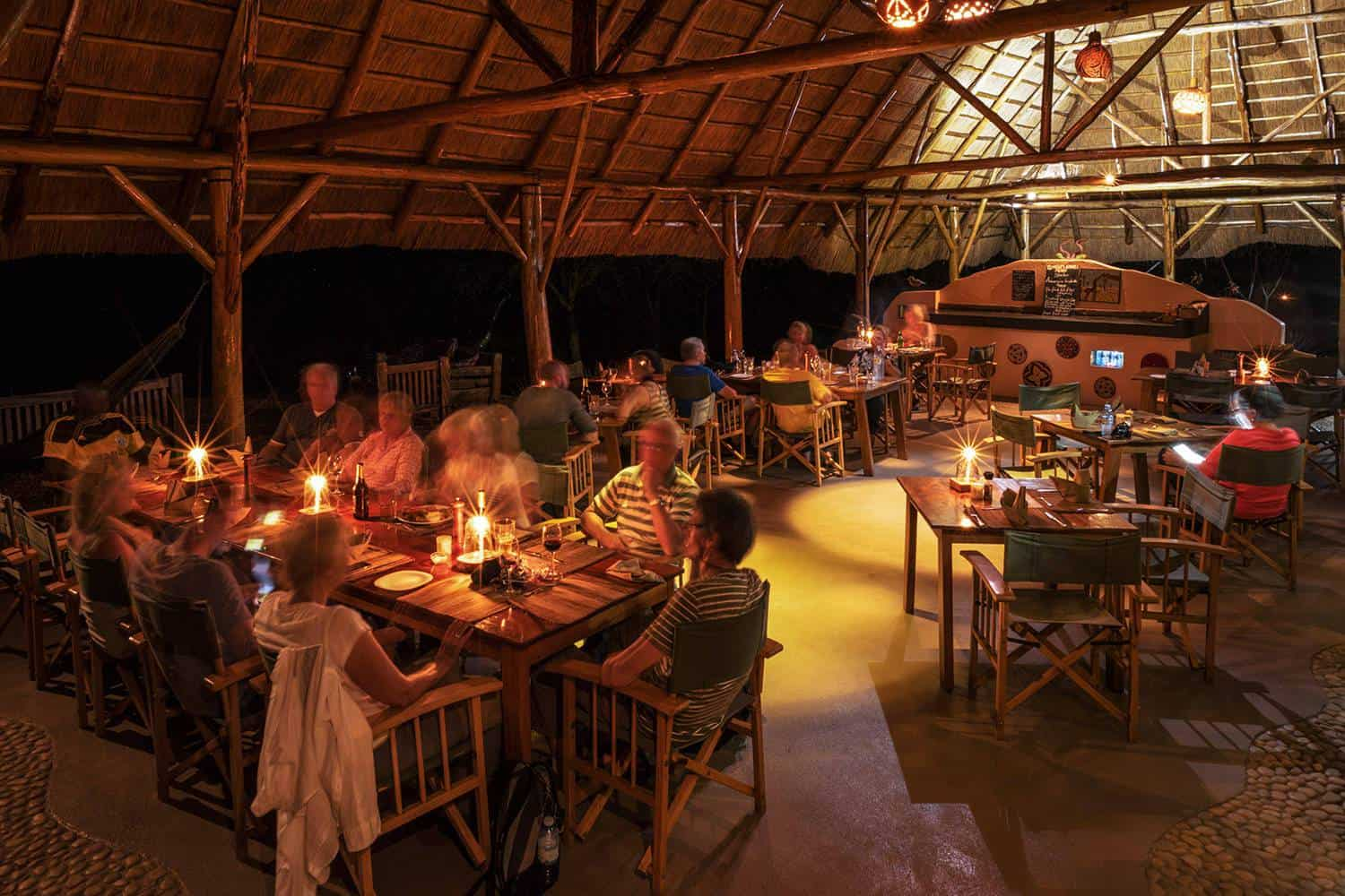 Murchison River Lodge Meals Murchison Falls Dining