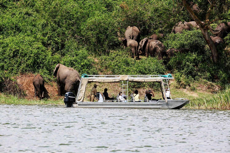Cruising On The Kazinga Channel