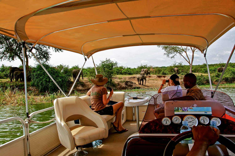 Boat Safaris On Kazinga Channel