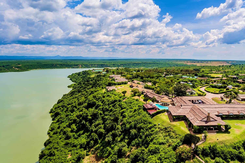 Mweya Safari Lodge Queen Elizabeth Park View