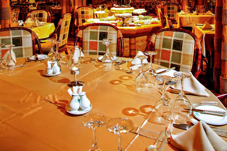 Mweya Safari Lodge Meals Queen Elizabeth Dining
