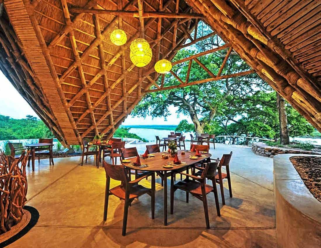 Nile Safari Lodge Meals Murchison Falls Dining