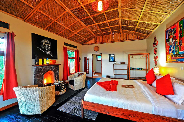 Nkuringo Bwindi Gorilla Lodge Accommodation Bwindi