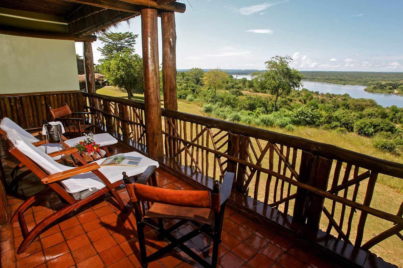 Paraa Safari Lodge Murchison Falls Park View