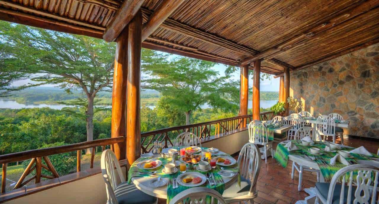 Paraa Safari Lodge Meals Murchison Falls Dining