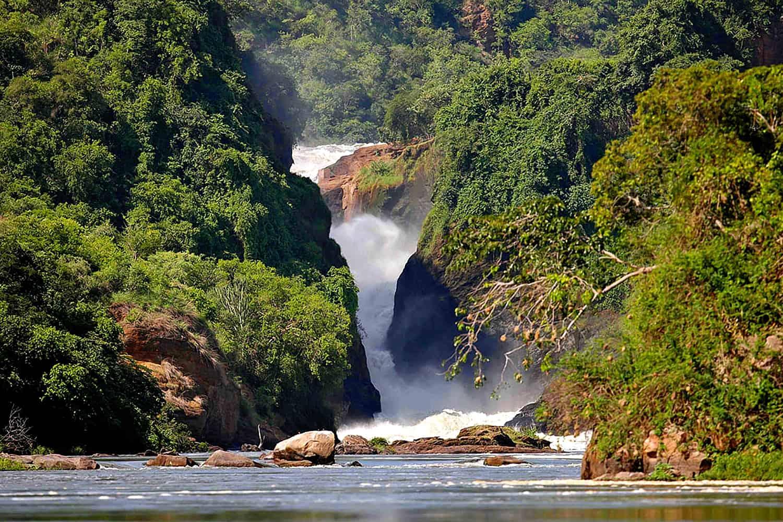 Boat Safaris To View The Murchison Falls