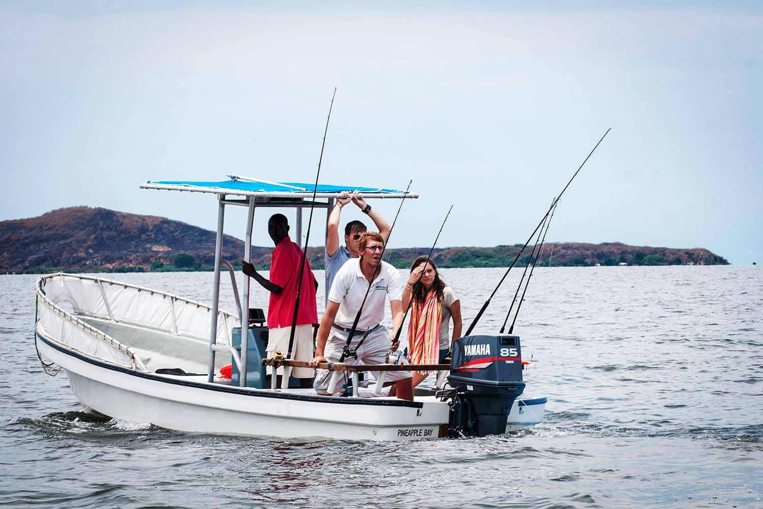 Lake Victoria Fishing Tour From Entebbe
