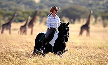 HORSEBACK SAFARIS IN TANZANIA