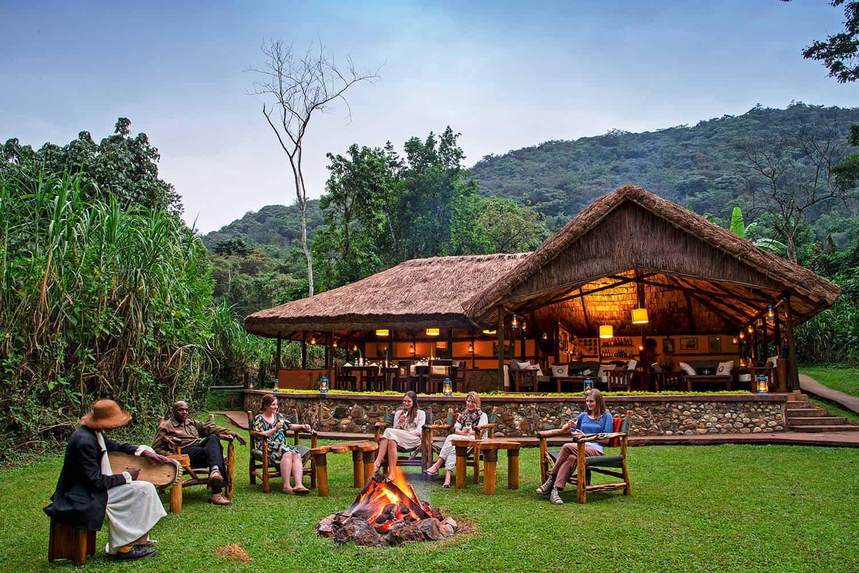 Sanctuary Gorilla Forest Camp Bwindi Park View