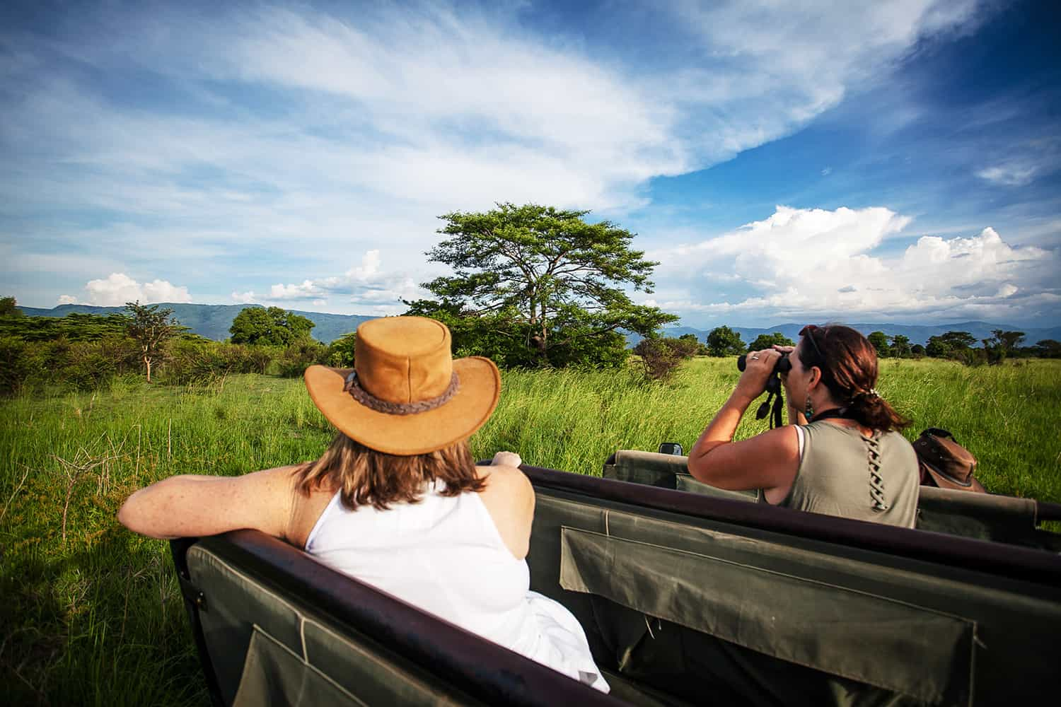 Game Drives To View The Diverse Wildlife Of Semliki