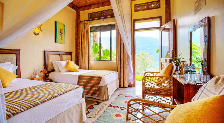 Silverback Lodge Accommodation Bwindi