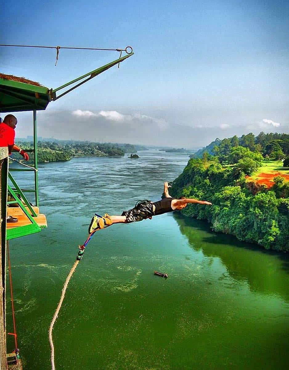Bungee Jump Over The Nile River