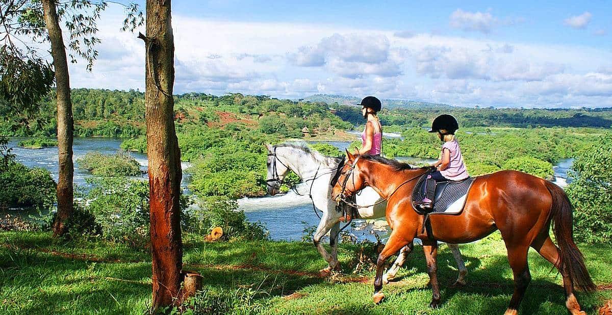 Horseback Riding In Jinja - Nile River Banks