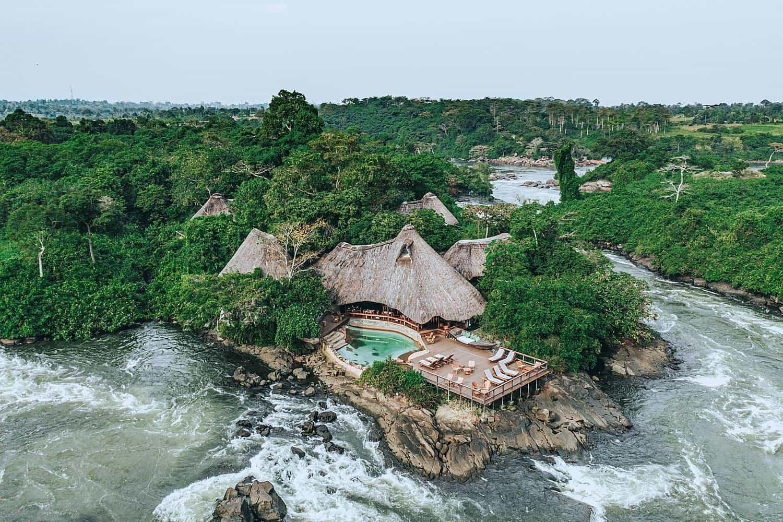 Wildwaters Lodge Jinja - Nile River View