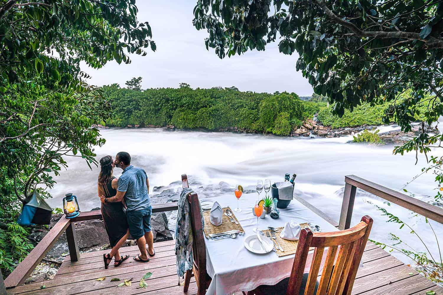 Wildwaters Lodge Meals Jinja - Nile River Dining