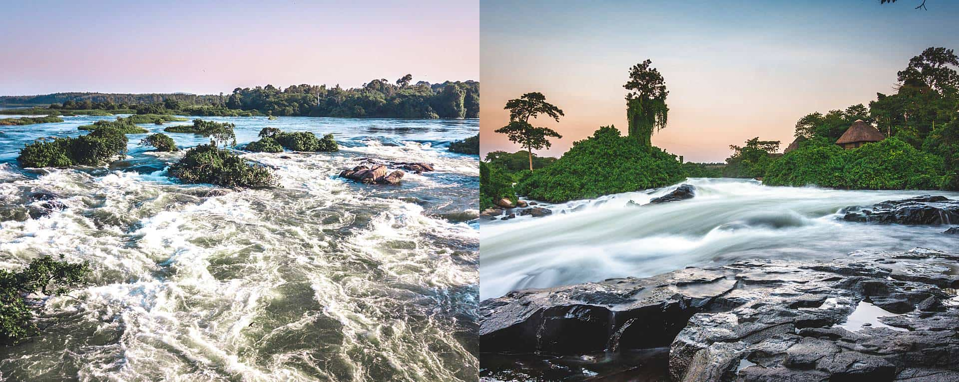 Nile River Near Jinja